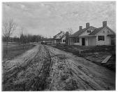 view [Reynolda]: road leading to superintendent's cottage. digital asset: [Reynolda] [photonegative]: road leading to superintendent's cottage.