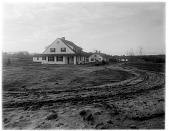 view Reynolda: road leading to superintendent's cottage. digital asset: Reynolda [photonegative]: road leading to superintendent's cottage.