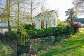 view [Montrose]: Circa 1835 kitchen outbuilding with an herb and heirloom vegetable garden. digital asset: [Montrose]: Circa 1835 kitchen outbuilding with an herb and heirloom vegetable garden. : 2018 April 18