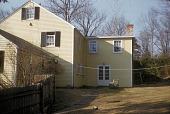 view [Hoyt, C. O., Garden]: back of house before landscaping. digital asset: [Hoyt, C. O., Garden] [slide]: back of house before landscaping.