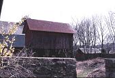 view [Pitney Farm]: stone walls and farm buildings. digital asset: [Pitney Farm] [slide]: stone walls and farm buildings.