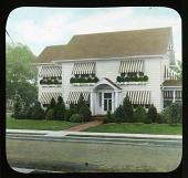 view Unidentified Garden in Ridgewood, New Jersey: Evergreen Planting digital asset: Unidentified Garden in Ridgewood, New Jersey [slide]