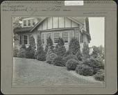 view Unidentified Garden in Ridgewood, New Jersey: Evergreens digital asset: Unidentified Garden in Ridgewood, New Jersey [photoprint]