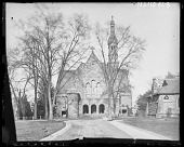 view [Princeton University]: Marquand Chapel at Princeton (destroyed by fire in 1920). digital asset: [Princeton University] [glass negative]: Marquand Chapel at Princeton (destroyed by fire in 1920).