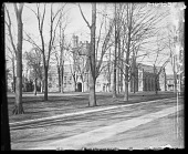 view [Princeton University]: East Pyne Hall (built 1897) viewed from Cannon Green. digital asset: [Princeton University] [glass negative]: East Pyne Hall (built 1897) viewed from Cannon Green.