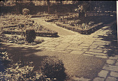 view [Wynnewood]: formal garden on north side of pool, showing how a swimming pool may be successfully wedded into a garden planting. digital asset: [Wynnewood]: formal garden on north side of pool, showing how a swimming pool may be successfully wedded into a garden planting.: [between 1930 and 1965]