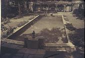 view [Wynnewood]: view of pool area. digital asset: [Wynnewood]: view of pool area.: [between 1930 and 1965]