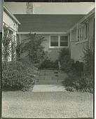 view [Mackie Garden]: small courtyard. digital asset: [Mackie Garden] [photonegative and photoprint]: small courtyard.