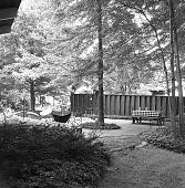 view [Gleason Garden]: patio/outdoor living and dining area. digital asset: [Gleason Garden] [safety film negative]: patio/outdoor living and dining area.