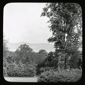 view Kykuit: view across the Hudson River. digital asset: Kykuit [slide] view across the Hudson River.
