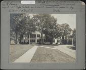 view Hill-Stead: Ulmus Americana; Trees moved by Hicks Nurseries digital asset: Pope Garden [photoprint]