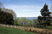 view [Oak Knoll]: view from the terrace over Oyster Bay harbor. digital asset: [Oak Knoll]: view from the terrace over Oyster Bay harbor.: 2007 May.