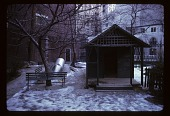 view Cooper-Hewitt Museum: playhouse in winter. digital asset: Cooper-Hewitt Museum: playhouse in winter.: 1974 Jan.