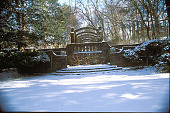 view [Hillwood]: winter view of arbor. digital asset: [Hillwood]: winter view of arbor.: 2002 Jan.