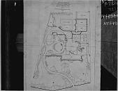 view [Warner Garden]: General Planting Plan by William S. Manning digital asset: [Warner Garden] [photonegative]