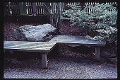 view [Oregon Dental Association]: wooden bench. digital asset: [Oregon Dental Association]: wooden bench.: 1997.