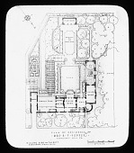 view [Mrs. B. Franklin Pepper's Garden]: Plan of Residence. digital asset: [Mrs. B. Franklin Pepper's Garden]: Plan of Residence.: [between 1921 and 1949?]