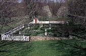 view [Hidden Glen Farms]: overview of colonial garden (northeast). digital asset: [Hidden Glen Farms]: overview of colonial garden (northeast).: 1998 Apr.