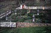 view [Hidden Glen Farms]: detail of overview of colonial garden (northeast). digital asset: [Hidden Glen Farms]: detail of overview of colonial garden (northeast).: 1998 Apr.