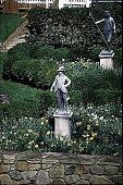 "view [Hidden Glen Farms]: detail view of colonial ""Gentleman"" and colonial ""Shepherd"" statues. digital asset: [Hidden Glen Farms]: detail view of colonial ""Gentleman"" and colonial ""Shepherd"" statues.: 1998 Apr."