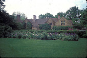 view [Waterman Garden]: cutting garden and house. digital asset: [Waterman Garden]: cutting garden and house.: 2002 May.