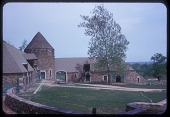 view [McLean Garden in unidentified city in Pennsylvania]: close-up of barn. digital asset: [McLean Garden in unidentified city in Pennsylvania]: close-up of barn.: 1963 May.