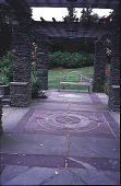 view [Beacon Ridge South]: pergola floor pattern. digital asset: [Beacon Ridge South]: pergola floor pattern.: 1999 Jun.