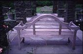 view [Beacon Ridge South]: pergola benches. digital asset: [Beacon Ridge South]: pergola benches.: 1999 Jun.