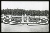 view Unidentified Garden: formal sunken garden digital asset: Unidentified Garden [lantern slide]: an unidentified garden.