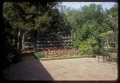 view Black Garden: brick terrace. digital asset: Black Garden [slide (photograph)]: brick terrace.
