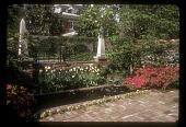 view [Moore Garden]: rectangular fountain. digital asset: [Moore Garden] [slide]: rectangular fountain.