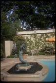 view [Williams Garden]: mermaid fountain. digital asset: [Williams Garden] [slide]: mermaid fountain.
