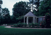 view [Michael McDonnell Garden]: view of gazebo. digital asset: [Michael McDonnell Garden]: view of gazebo.: 1987 May.