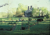 view [Wildwood]: view of house and annual garden. digital asset: [Wildwood]: view of house and annual garden.: 1999 May.