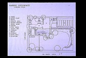 view [John Sweeney Mellinger Garden]: a drawing of the plot plan by David Foresman & Co. digital asset: [John Sweeney Mellinger Garden]: a drawing of the plot plan by David Foresman & Co.: 1985.