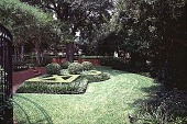 view [Ravenwood]: one of the formal garden areas. digital asset: [Ravenwood]: one of the formal garden areas.: 1999 Aug.