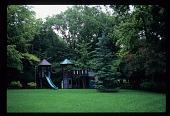 view [Harlan Crow Garden]: view of children's play yard. digital asset: [Harlan Crow Garden]: view of children's play yard.: 2012 Jul.