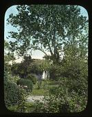 view [Welbourne]: the rose garden. digital asset: [Welbourne]: the rose garden.: 1930 May.