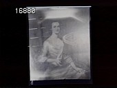 view [Miscellaneous Images in Virginia]: photograph of a portrait of Rebecca Tasker Dulany. digital asset: [Miscellaneous Images in Virginia] [nitrate negative]: photograph of a portrait of Rebecca Tasker Dulany.