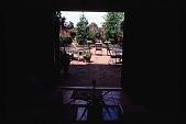 view [Douthat Garden]: garden furniture. digital asset: [Douthat Garden]: garden furniture.: 1998 June 3.