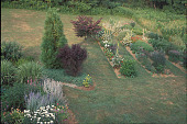 view [A Country Garden]: view of cutting garden and cold compost area. digital asset: [A Country Garden]: view of cutting garden and cold compost area.: 2002 Jul.