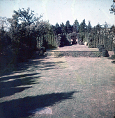 view [Warrenton Country School]: possibly an outdoor stage for theatrical productions performed at the school. digital asset: [Warrenton Country School]: possibly an outdoor stage for theatrical productions performed at the school.: [between 1915 and 1950]