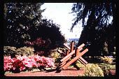 """view Pampas Point: Sculpture """"Ketchum Jacks"""". digital asset: Pampas Point: Sculpture """"Ketchum Jacks"""".: 1993, May."""
