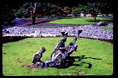 "view Pampas Point: Sculpture ""Rolling Horse"". digital asset: Pampas Point: Sculpture ""Rolling Horse"".: 1994 May."