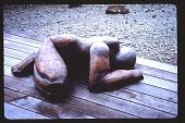 "view Pampas Point: Sculpture ""The Sleeper"". digital asset: Pampas Point: Sculpture ""The Sleeper"".: 1993 Sept."