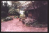 view [Agate Nursery]: walking path to main entry. digital asset: [Agate Nursery]: walking path to main entry.: 1998 May.