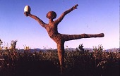 "view [Hofius Garden, Sequim, Washington]: a garden sculpture: ""Dancing Girl."" digital asset: [Hofius Garden, Sequim, Washington]: a garden sculpture: ""Dancing Girl."": 1999 Jun."