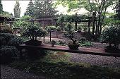 view [Elverhøj]: bonsai courtyard and potting area. digital asset: [Elverhøj]: bonsai courtyard and potting area.: 2000 Jul.