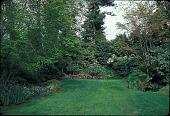 view [Greer Garden]: vista of upper garden, looking east. digital asset: [Greer Garden]: vista of upper garden, looking east.: 1991 May.