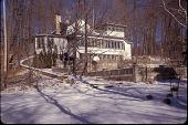 view [Birchwood]: lower formal gardens in winter. digital asset: [Birchwood]: lower formal gardens in winter.: 2003.